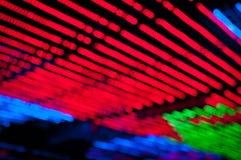 Colorful bokeh background. Colorful bokeh of Christmas light Stock Photos