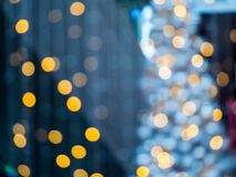 Colorful bokeh background. Colorful bokeh background - Christmas lights royalty free stock images