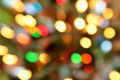 COLORFUL BOKEH BACKGROUND. Colorful out of focus bokeh lights Royalty Free Stock Photography