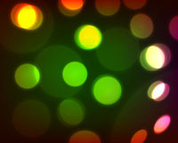 Colorful bokeh background. Vector eps 10 Royalty Free Stock Photos