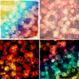 Colorful bokeh backgrounds Royalty Free Stock Photography