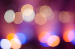 Colorful bokeh Stock Images