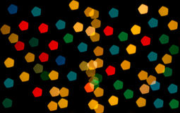 Colorful bokeh blackground Stock Photography