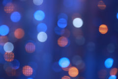 Colorful bokeh of christmas lights Royalty Free Stock Images