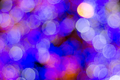 Colorful bokeh. Of a christmas tree Royalty Free Stock Photos