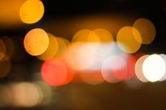 Colorful Bokeh in closeup. Shot Royalty Free Stock Images