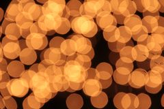 Colorful bokeh of color light background in Chrismas event royalty free stock photography
