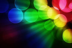 Colorful bokeh effect background Royalty Free Stock Photo