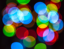 Colorful bokeh Stock Image