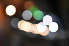Colorful bokeh images for wallpapers, texture, background. Royalty Free Stock Photo