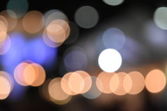 Colorful bokeh images for wallpapers, texture, background. Royalty Free Stock Photos