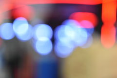 Colorful bokeh images for wallpapers, texture, background. Royalty Free Stock Photography