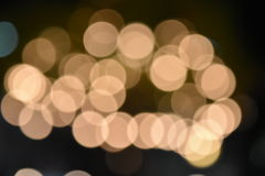 Colorful bokeh images for wallpapers, texture, background. Stock Image