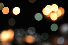 Colorful bokeh images for wallpapers, texture, background. Royalty Free Stock Image