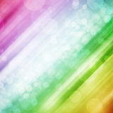 Colorful bokeh light background Stock Image