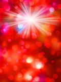 Colorful bokeh light background. EPS 10 Royalty Free Stock Photos
