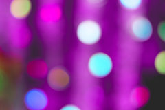 Colorful bokeh of light. Colorful bokeh of light on black background Stock Images