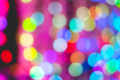 Colorful bokeh of light. Stock Photo