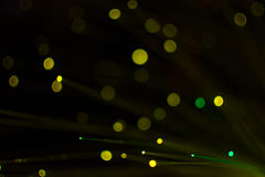 Colorful bokeh light celebrate at night, defocus light abstract background. Royalty Free Stock Photos