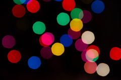 Colorful bokeh light Royalty Free Stock Photos