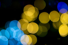Colorful bokeh of light. Stock Photos