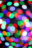 Colorful bokeh light Royalty Free Stock Photography