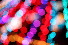 Colorful bokeh light. Light texture blur bokeh, abstract background Stock Photos
