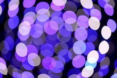 Colorful bokeh light Royalty Free Stock Images