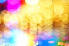 Colorful bokeh lights Royalty Free Stock Photo
