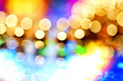Colorful bokeh lights Royalty Free Stock Photos