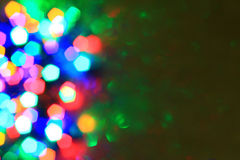 Abstract  christmas lights  background Royalty Free Stock Photos