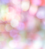 Colorful bokeh pastel color abstract background. Defocused lights pastel color abstract background Royalty Free Stock Images