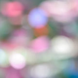 Colorful bokeh pastel color abstract background Royalty Free Stock Image