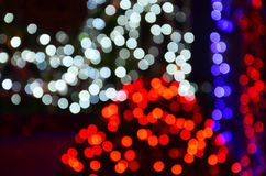 Colorful Bokeh. In photography, bokeh is the aesthetic quality of the blur produced in the out-of-focus parts of an image produced by a lens. Bokeh has been Stock Photo