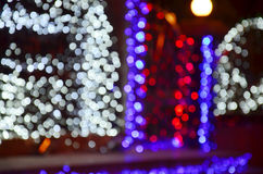 Colorful Bokeh. In photography, bokeh is the aesthetic quality of the blur produced in the out-of-focus parts of an image produced by a lens. Bokeh has been Stock Photos