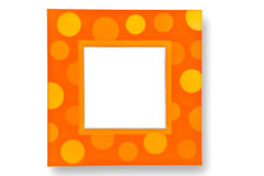 Colorful bokeh picture frame Stock Image