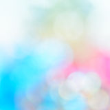 Colorful bokeh twinkling lights  background Royalty Free Stock Photo