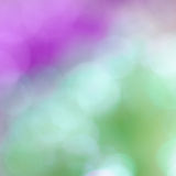 Colorful bokeh twinkling lights background Stock Photo