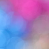 Colorful bokeh twinkling lights background Royalty Free Stock Images
