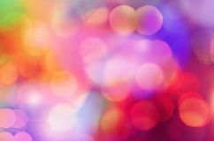 Colorful bokeh. Colorful Wallpaper bokeh royalty free stock photography