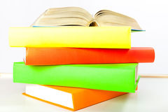 Colorful book Stock Image
