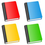 Colorful Book Icon Collection Stock Photos