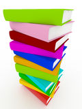 Colorful Book Stack Stock Image