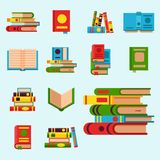 Colorful book vector illustration learn literature study opened   Stock Photos