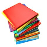 Colorful books Stock Photo