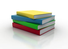 Colorful books Stock Illustration