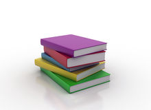 Colorful books Stock Images
