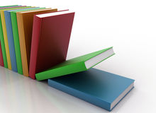 Colorful books Royalty Free Illustration