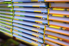 Colorful books Stock Photography
