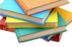 Colorful books Royalty Free Stock Photography